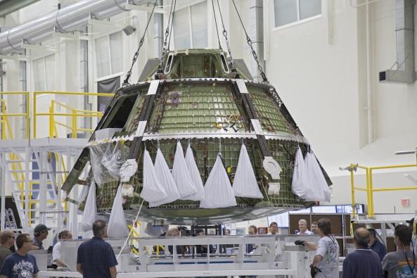 La cápsula tripulada Orion