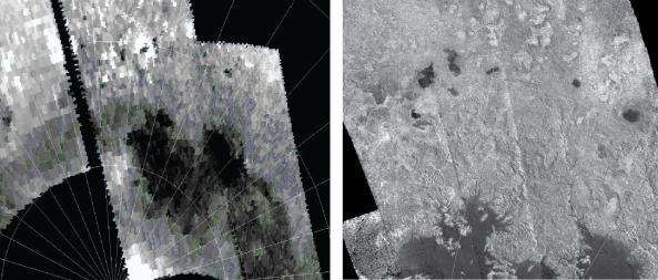Nuevos lagos en Titán