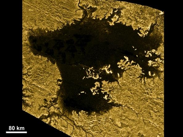 Lago de Titán