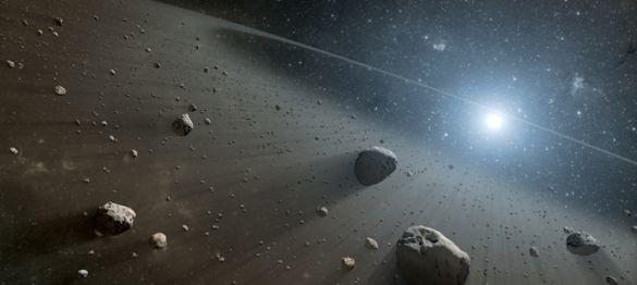 Resultado de imagen para exploraciones al cinturon de asteroides