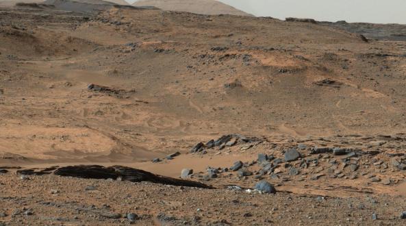 El Monte Sharp destino primario del rover Curiosity